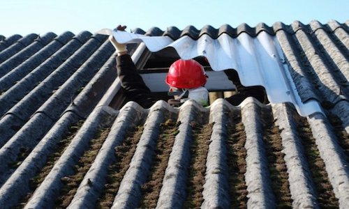 Asbestos roof repair Thornton